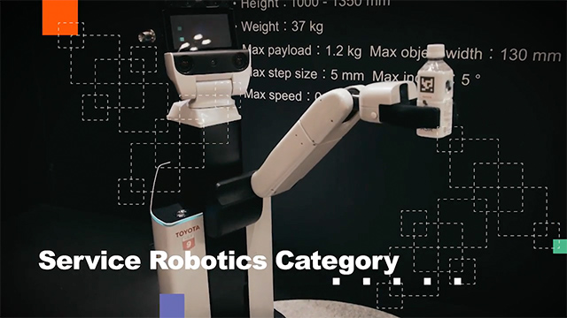 Service Robotics Introduction Video image